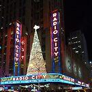 Radio City at Christmas II by David Thompson