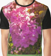 Wonderful backlit bougainvillea  Graphic T-Shirt