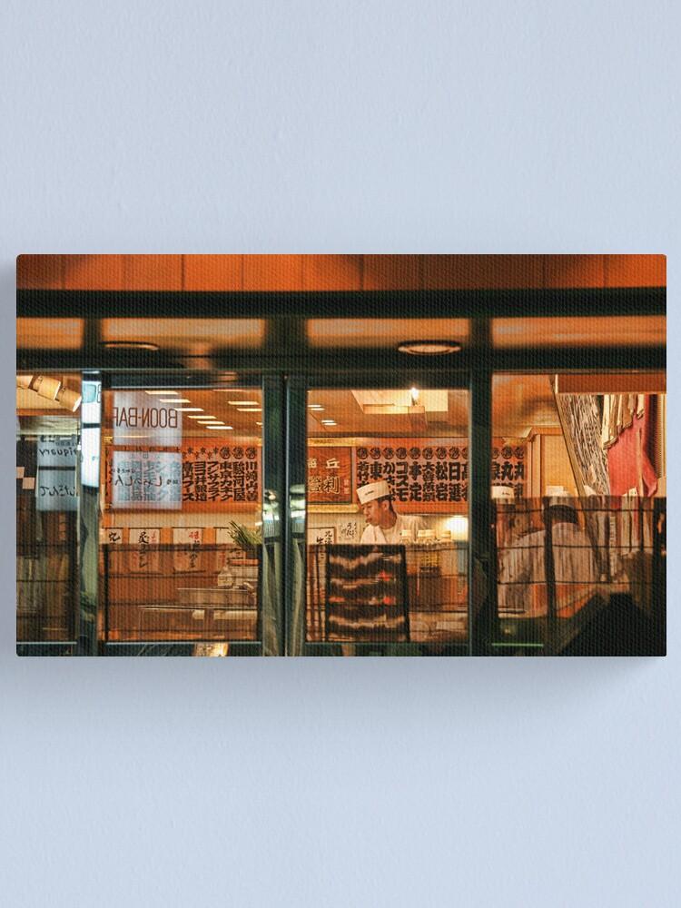 Alternate view of Tokyo Restaurant II Canvas Print
