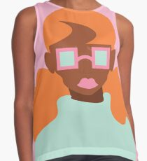 Candy Shop Girl (Orange) Contrast Tank