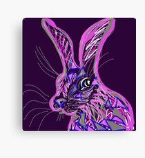 Wacky Hare Canvas Print