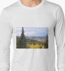 Colorado Aspen Fall Colors Long Sleeve T-Shirt