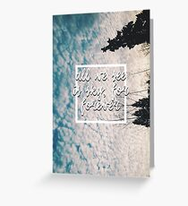 Dear Evan Hansen Greeting Card
