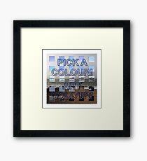 Postmodernism 10 Framed Print
