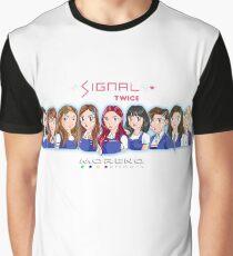 Anime SIGNAL TWICE  Graphic T-Shirt