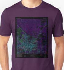 USGS TOPO Map Florida FL Gainesville East 346381 1966 24000 Inverted Unisex T-Shirt