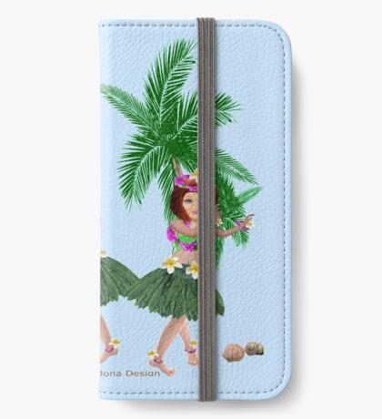 Ha wain Girls (8411  Views) iPhone Wallet