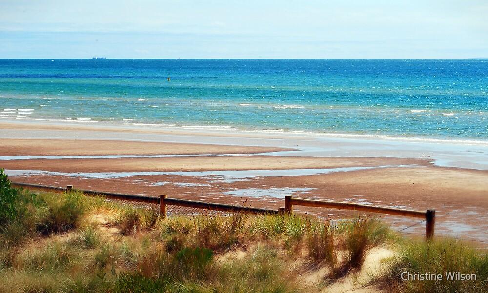 """Sand , Sun 'n Surf"" by Christine Wilson"