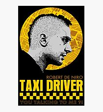 The Fabulous Taxi Driver Photographic Print