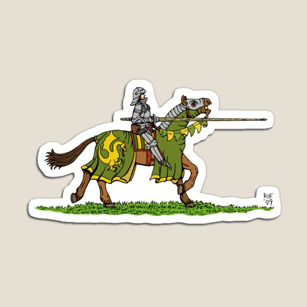 Charging Knight Magnet