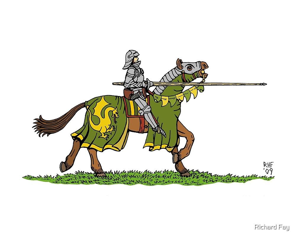 Charging Knight by Richard Fay