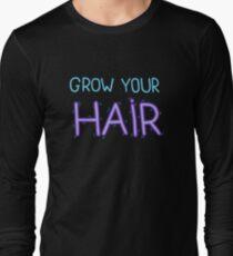 Grow Your Hair Long Sleeve T-Shirt
