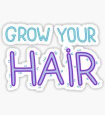 Grow Your Hair Sticker