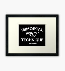 Immortal Technique Framed Print