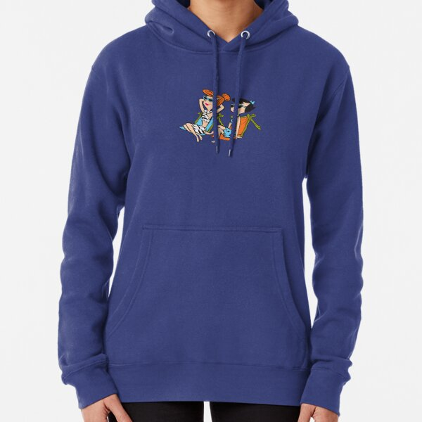 The Flintstones Wilma and Betty in the Sun Pullover Hoodie
