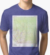 USGS TOPO Map Florida FL Boyd 345264 1954 24000 Tri-blend T-Shirt