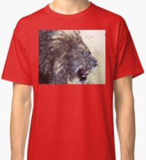 Low Poly Lion Classic T-Shirt