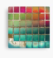Color Chart Multi Canvas Print