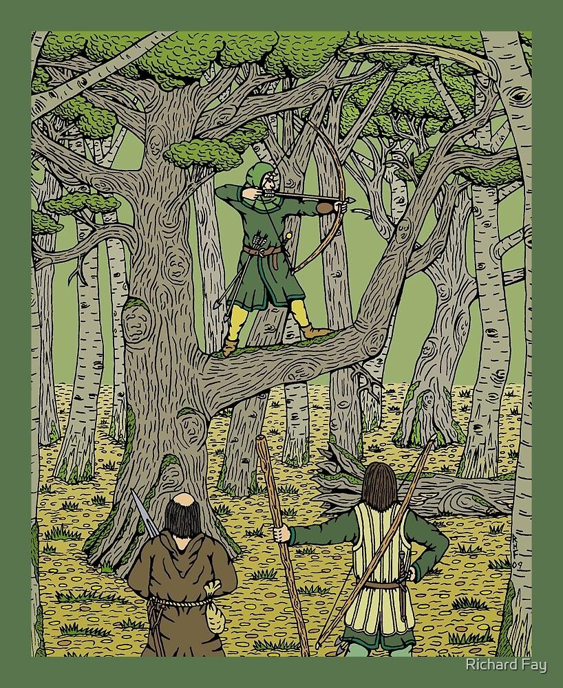 Robin in Sherwood by Richard Fay