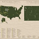 US National Parks - Wyoming by FinlayMcNevin