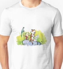 calvin and hobbes slow Unisex T-Shirt