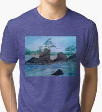 Three Brothers, Taft Bay Tri-blend T-Shirt