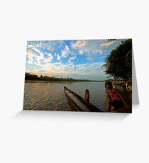 Amazon Ecuador Greeting Card