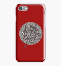 Maple mandala iPhone Case/Skin