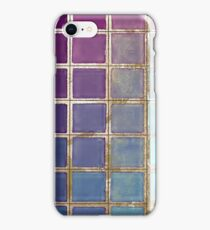 Color Chart Teal iPhone Case/Skin
