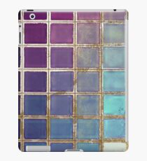 Color Chart Teal iPad Case/Skin