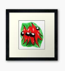 Sturt Desert Pea Framed Print