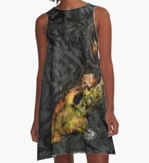 Black Waters 1 A-Line Dress