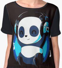 DnB Panda Chiffon Top
