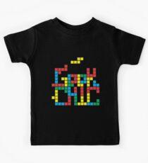 Tetris Geek Kids Clothes