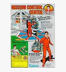 THE SIX MILLION DOLLAR MAN - MISSION CONTROL CENTER - KENNER Photographic Print