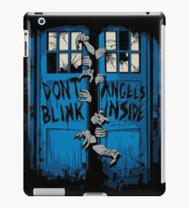 Doctor Who dont blink iPad Case/Skin