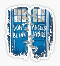 Doctor Who dont blink Sticker