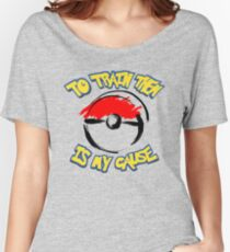 Pokémon: To Train Them Is My Cause Women's Relaxed Fit T-Shirt