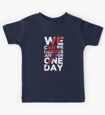 We can be heroes Kids Clothes