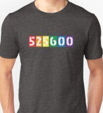 525,600 minutes [rent] Slim Fit T-Shirt