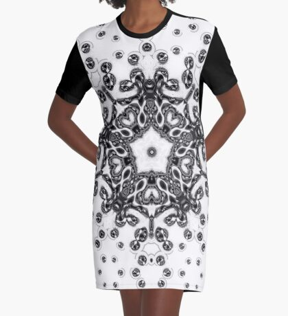 Amoeba 21 Graphic T-Shirt Dress