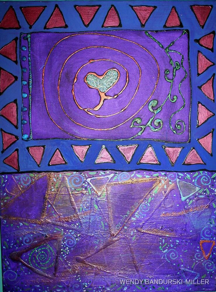 TRIBAL LOVE by WENDY BANDURSKI-MILLER