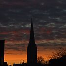 Salisbury Cathedral by Paul  Henderson Smith