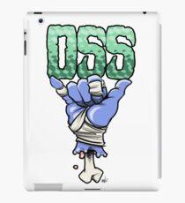 OSS blue iPad Case/Skin