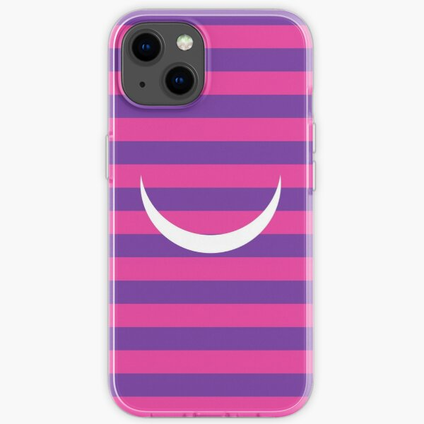 Minimalist Alice in Wonderland Cheshire cat iPhone and iTouch case iPhone Soft Case