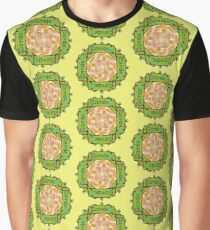 Garden - Stained Glass Sign Graphic T-Shirt
