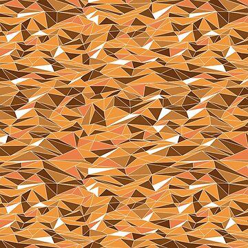 Geometric Sand Dune Desert by BowerbirdHouse