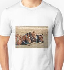 COOL WATERS & COOL HORSES Unisex T-Shirt