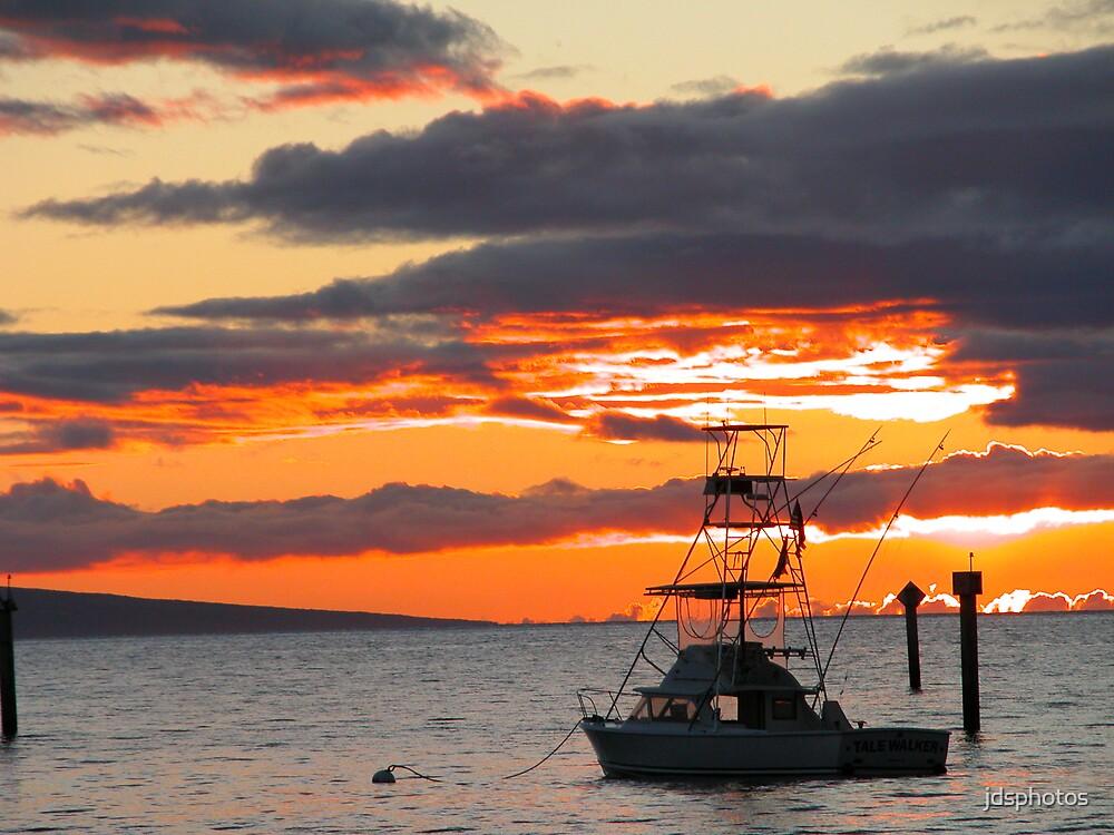 Sunset on Mauii by jdsphotos