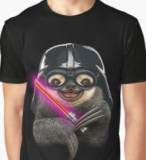 DARTH SLOTH Graphic T-Shirt